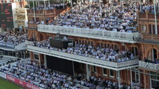 What? Cricket at Lord's in front of a jacket-less pavilion?